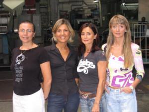 Milena, Paola, Rossella e Doriana Rustichelli