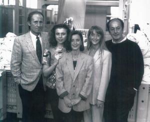 Franco, Milena, Paola, Doriana e Giorgio Rustichelli